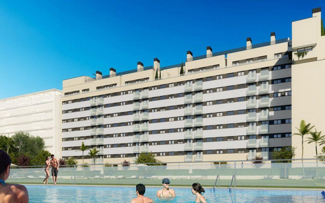 Nueva promoción de viviendas Terrazas de Roble, situada en Torrejón de Ardoz