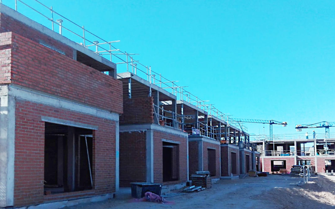 Una visita por el interior de la Promoción El Soto de Henares de Torrejón de Ardoz. Fase V