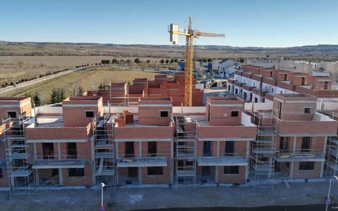 Así avanza la fase V de los unifamiliares de El Soto de Henares en Torrejón de Ardoz